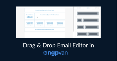 Drag and Drop Email Editor