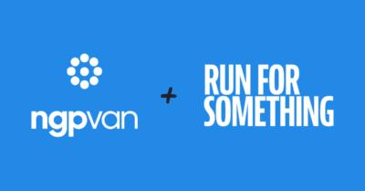 Run for Something partnership social header